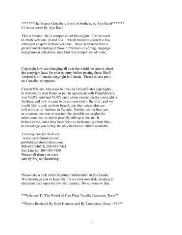 11 23 11 anthem rh yumpu com anthem ayn rand study guide questions answer key Ayn Anthem Rand Equality 7-2521