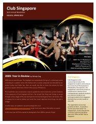 Club Singapore - University of Pennsylvania