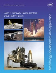 2006-2007 - Kennedy Space Center Technology Transfer Office