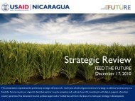 Nicaragua Feed The Future Strategic Review