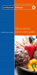 Mikronutrienty pro imunitní systém - IBI, spol s ro