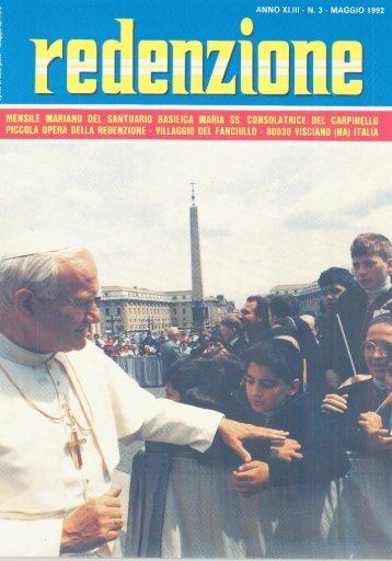 1992 - 03 - Ex Allievi di Padre Arturo D'Onofrio