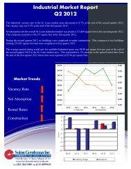 Q2 2012 Quarterly Report - Industrial - Solon Gershman Inc.