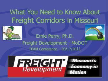 Freight Corridors