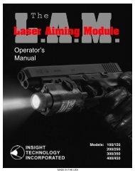 LAM Operator Manual - SmartGunner.com