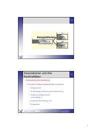 Assoziationen - Telematik TH Wildau
