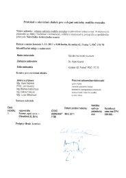 Protokol o otevírání obálek pro veřejné zakázky malého rozsahu