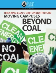 the solutions:colleges that have moved beyond coal - Sierra Club
