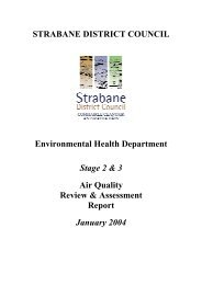 Air Quality Review and Assessment-Stage 3 - Northern Ireland Air