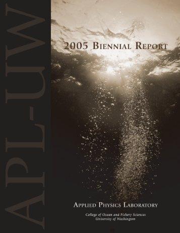 2005 Biennial (PDF, 12 MB) - Applied Physics Laboratory-University ...