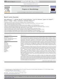 Barrel cortex function - EPFL