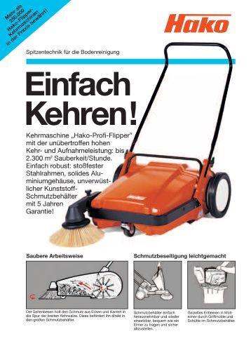 handkehrmaschine magazine. Black Bedroom Furniture Sets. Home Design Ideas