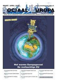 Het warme Europagevoel De roofzuchtige EU - Ander Europa