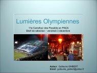 Lumières Olympiennes