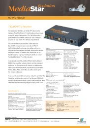 780/HD IPTV Receiver - VIDELCO