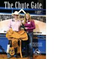 July 1 2012 / Volume 22 - Professional Cowboy Association