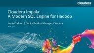 Impala: A Modern SQL Engine for Hadoop - NoCOUG
