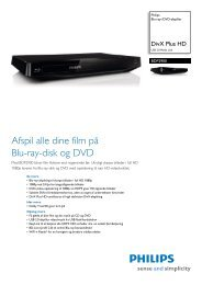BDP2900/12 Philips Blu-ray-/DVD-afspiller - Lomax