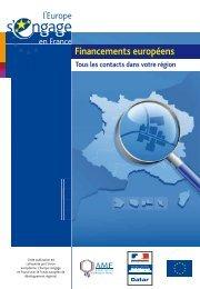 Financements européens - Europe en France, le portail des Fonds ...