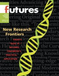 New Research Frontiers - AgBioResearch - Michigan State University
