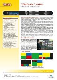 CORIOview C2-6204 - VIDELCO