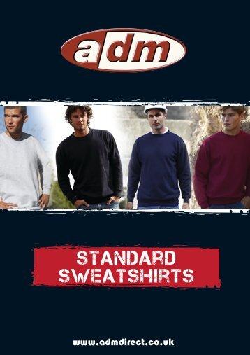 standard sweatshirts - ADM Workwear
