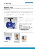 IDV Diaphragm valves data sheet - Italprotec - Page 2
