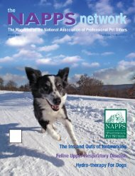 Winter 2007 - National Association of Professional Pet Sitters