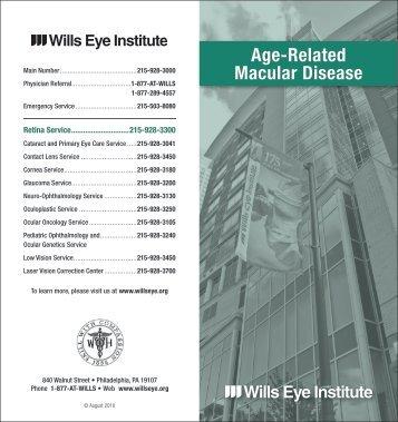 Age-Related Macular Disease - Wills Eye