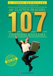 107 zlatých pravidel úspěšného manažera - eReading