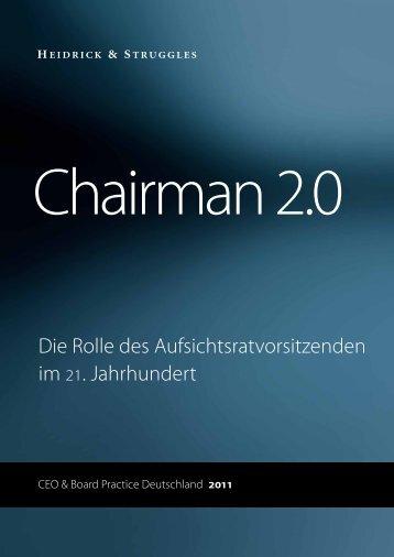 Chairman 2.0 - Heidrick & Struggles