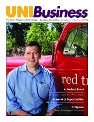 2006 UNIBusiness Magazine - College of Business Administration ...