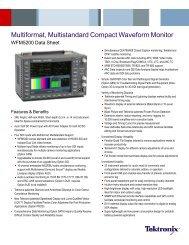 WFM5200 - Videocation