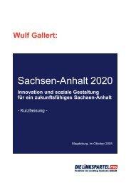Kurzfassung - PDS Sachsen-Anhalt