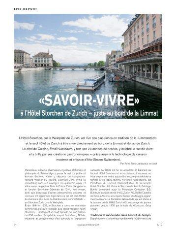 «SAVOIR-VIVRE»