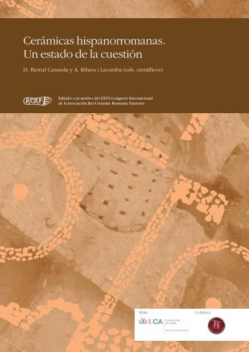 Cerámicas hispanorromanas. Un estado de la cuestión - Ex officina ...