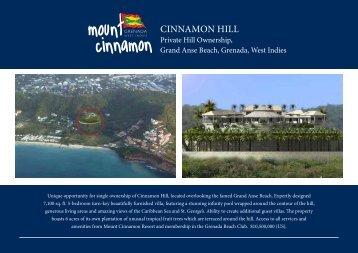 CINNAMON HILL - Mount Cinnamon Resort