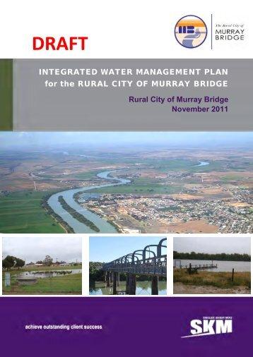 Integrated Water Resource Management Plan (Draft) - November ...
