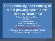 Health Kiosk Edu - Arengufond