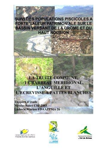 Rapport final V5 - Syndicat Mixte de la Rivière Drôme