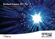 Breitband Kompass 2011 Plus Erfolgreiche ... - Breko