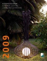 aussenleuchten outdoor lighting luminaires extérieurs - B + B Elektro