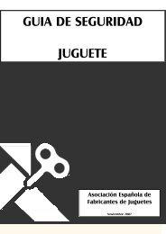 GUIA DE SEGURIDAD JUGUETE - AEFJ