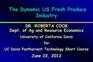 The Dynamic US Fresh Produce Industry - Agricultural & Resource ...