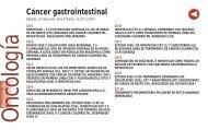 Cáncer gastrointestinal - Sociedad Española de Oncología Médica
