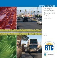 Las Vegas Valley Arterial Development Study - Regional ...