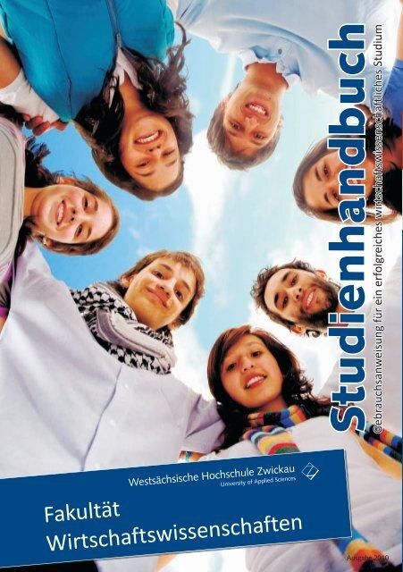 Studienhandbuch 2010 - FSR Wiwi Zwickau
