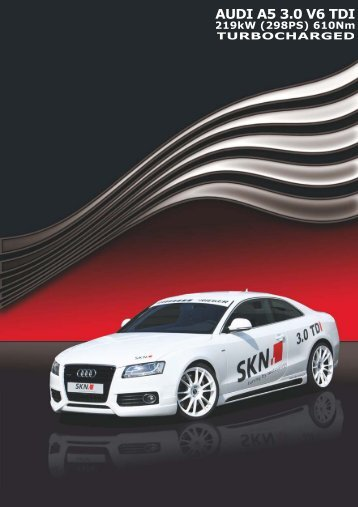 Audi A5 - SKN Tuning Blog