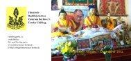 Programm August – Dezember 2012 - Tibetisches Zentrum Berlin