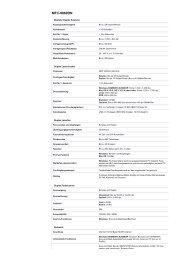 Datenblatt (PDF) - büro komplett OHG